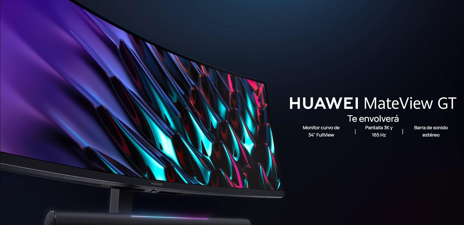 Foto de Huawei presenta sus 2 nuevos modelos de pantallas: HUAWEI MateView y HUAWEI MateView GT