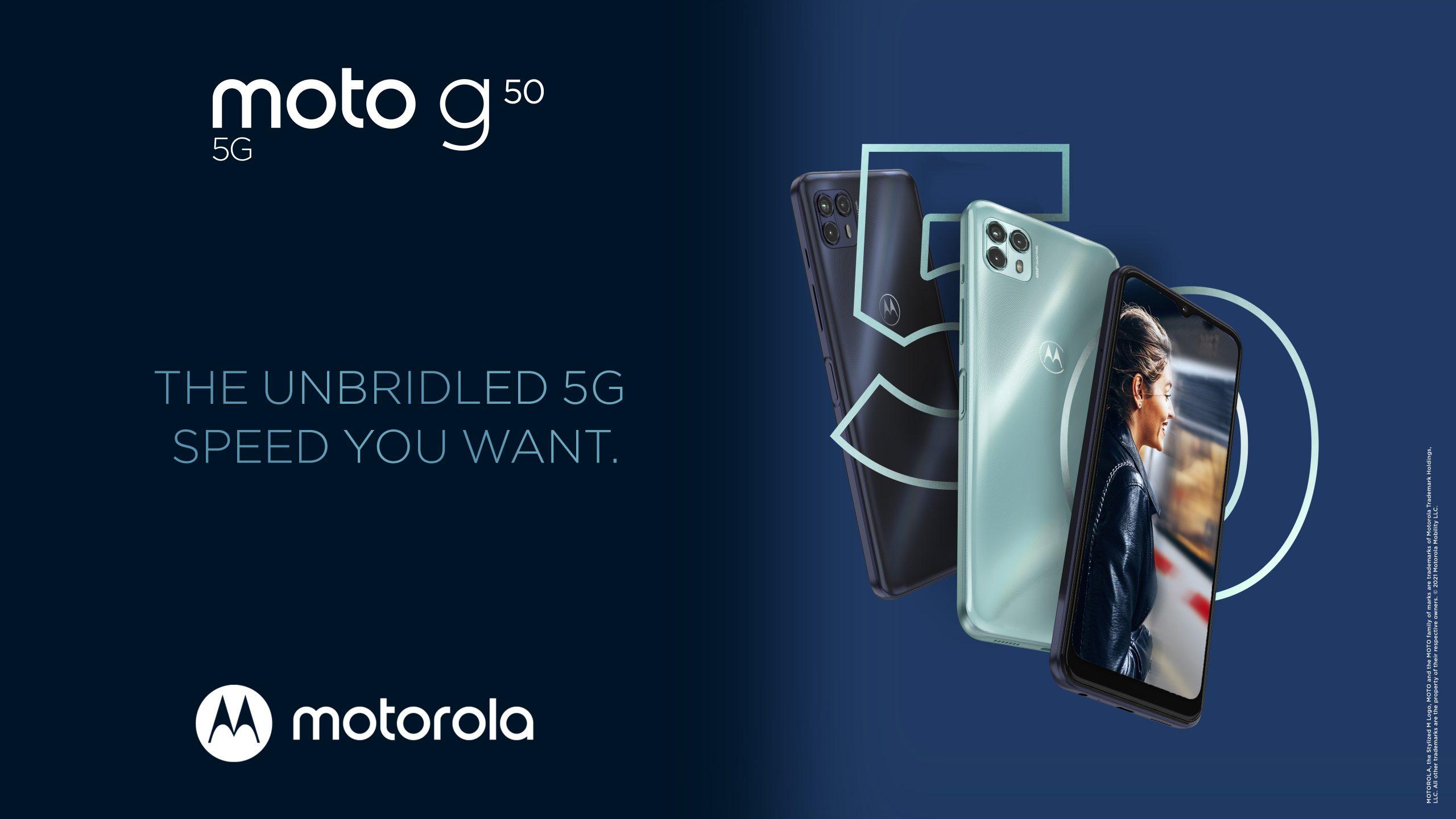 Foto de Motorola presenta en Perú el Moto G50 con 5G
