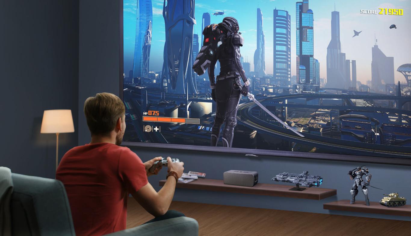 Foto de Gaming: ¿Qué debe tener un proyector para llevar tu experiencia a un siguiente nivel?