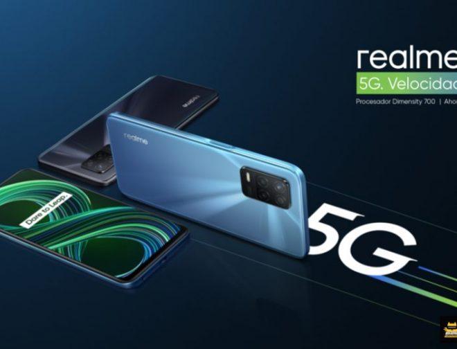 Fotos de realme 8 5G: El smartphone de última tecnología con una de las mejores pantallas del mercado