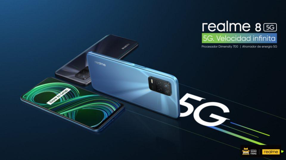 Foto de realme 8 5G: Cinco motivos que lo convierte en el móvil 5G más accesible del año