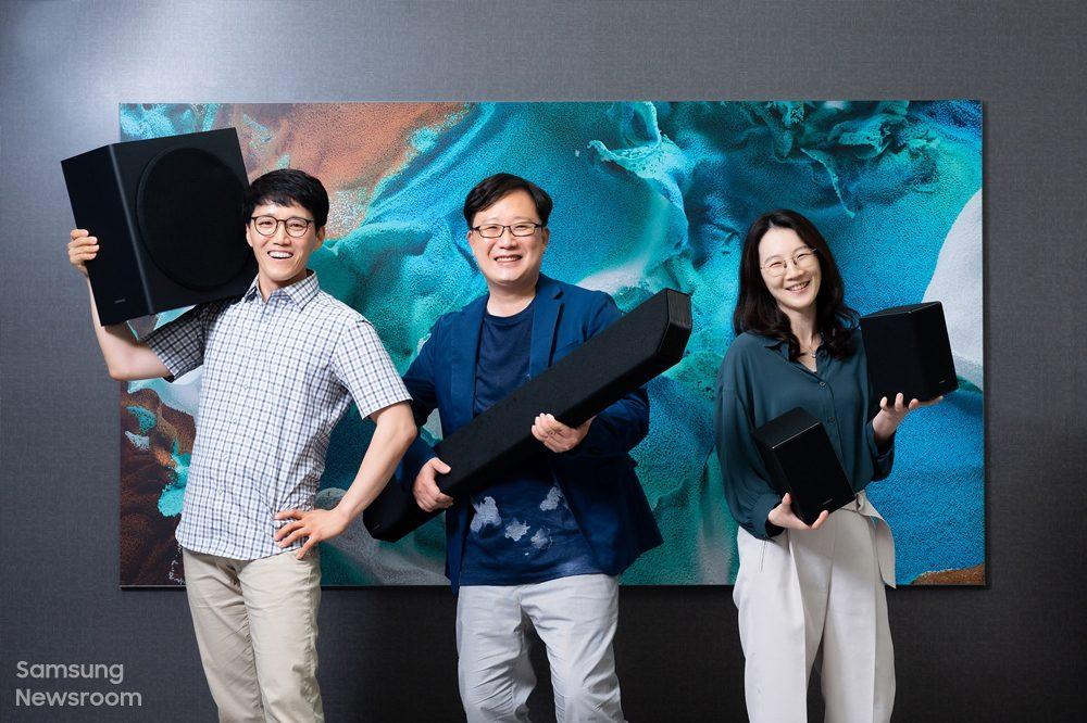 Foto de 4 secretos detrás del excelente sonido de la potente barra de sonido premium de Samsung