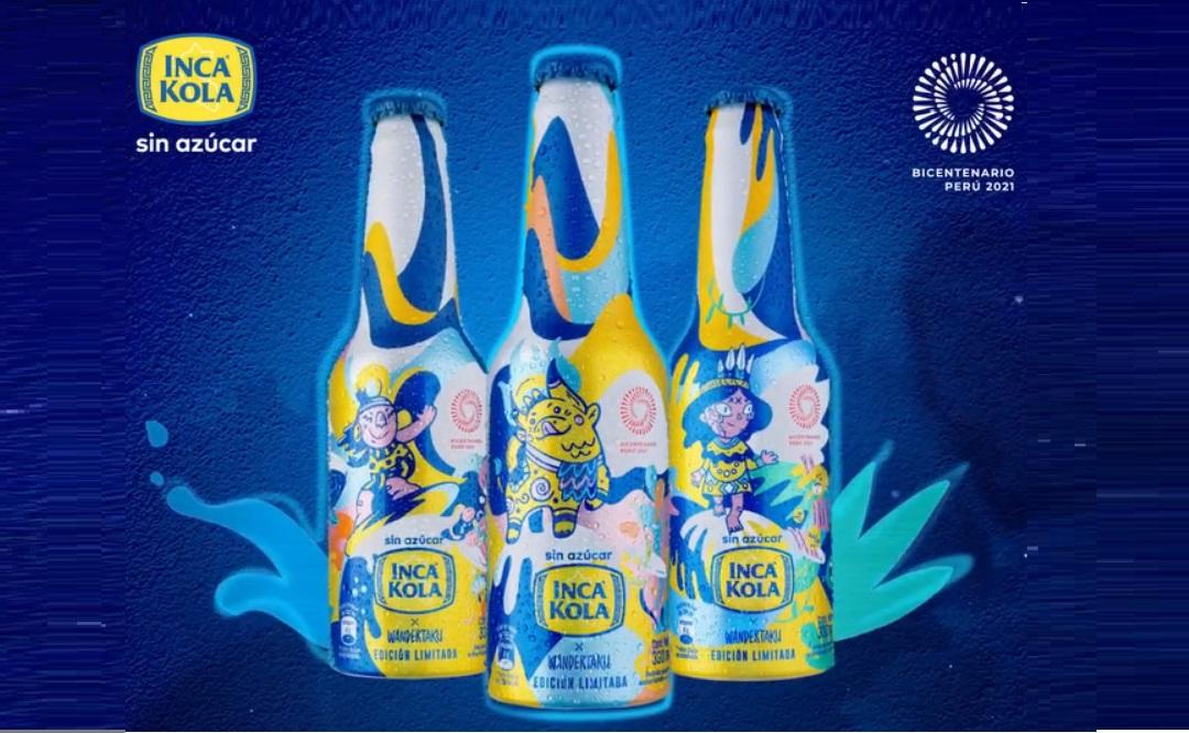 Foto de Conoce la colección de botellas de Inca Kola por el Bicentenario del Perú