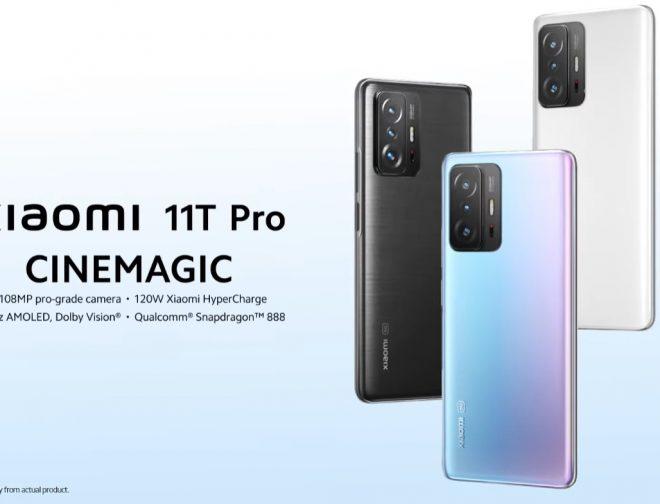 Fotos de Xiaomi lanza mundialmente el nuevo Xiaomi 11T y 11T Pro