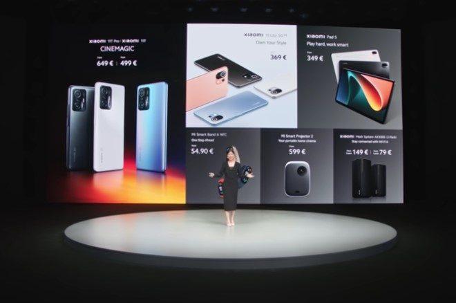 Fotos de Xiaomi presentó la nueva Xiaomi Pad 5 y sus nuevos productos AIoT