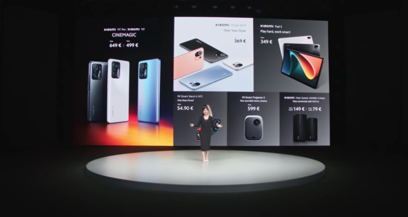 Foto de Xiaomi presentó la nueva Xiaomi Pad 5 y sus nuevos productos AIoT