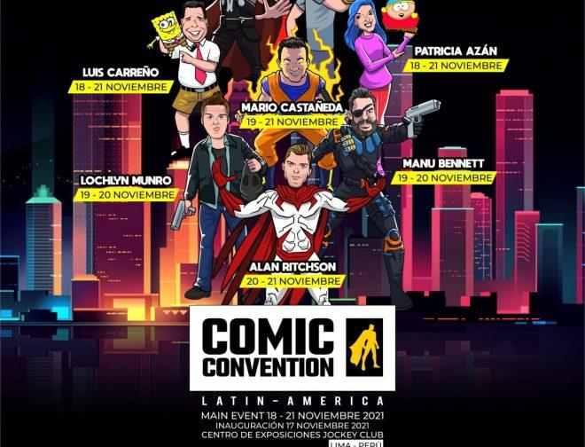 Fotos de Conoce a los artistas invitados a la Comic Convention Latin America 2021 en Perú
