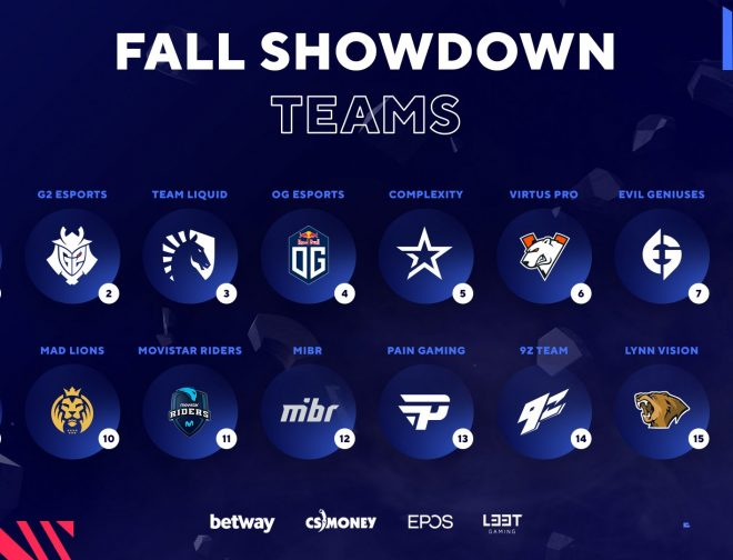 Fotos de CSGO: Equipos que jugarán la BLAST Premier: Fall Showdown 2021