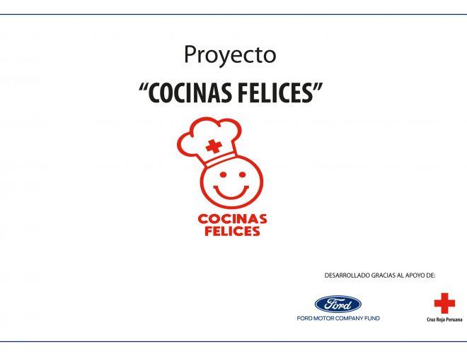 """Fotos de Ford financia la implementación de 12 """"Cocinas Felices"""" en colaboración con la Cruz Roja Peruana"""
