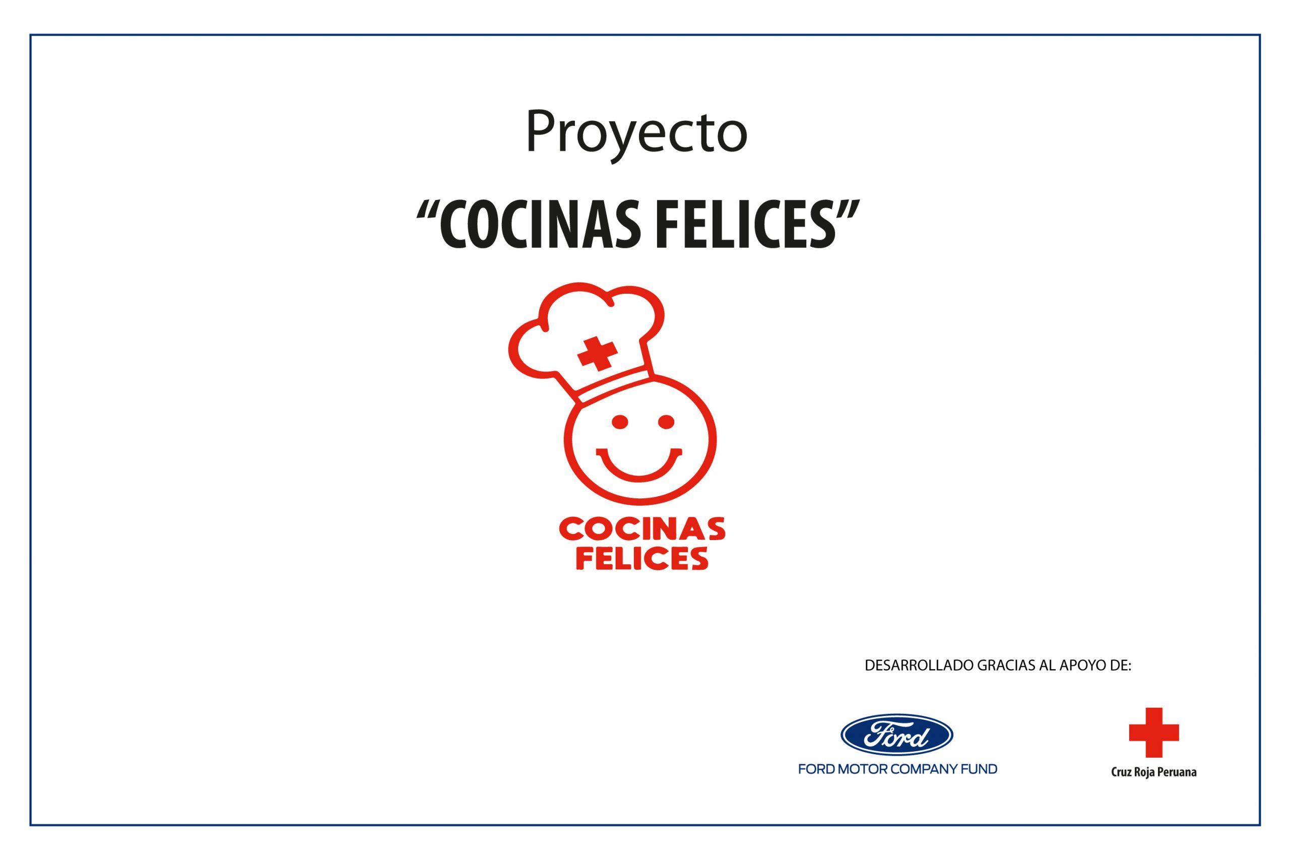"""Foto de Ford financia la implementación de 12 """"Cocinas Felices"""" en colaboración con la Cruz Roja Peruana"""
