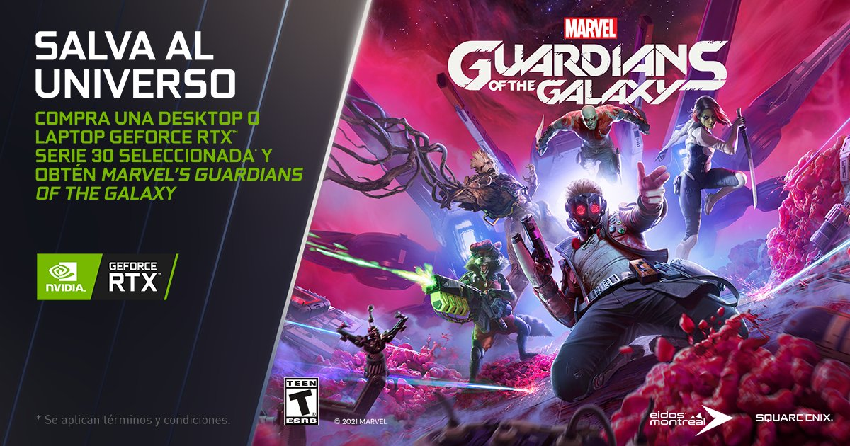 Foto de NVIDIA anuncia la promoción de GeForce RTX con Marvel's Guardians of the Galaxy