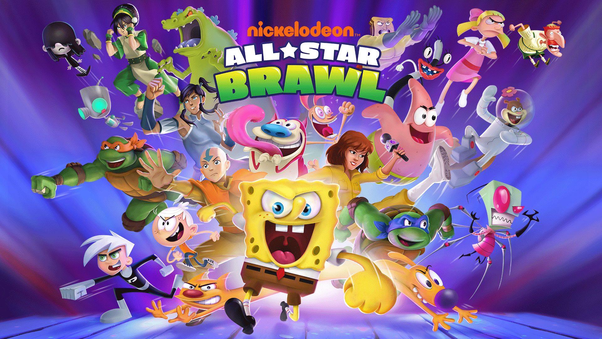 Foto de Nickelodeon All-Star Brawl muestra a toda su plantilla en acción en nuevo trailer de lanzamiento