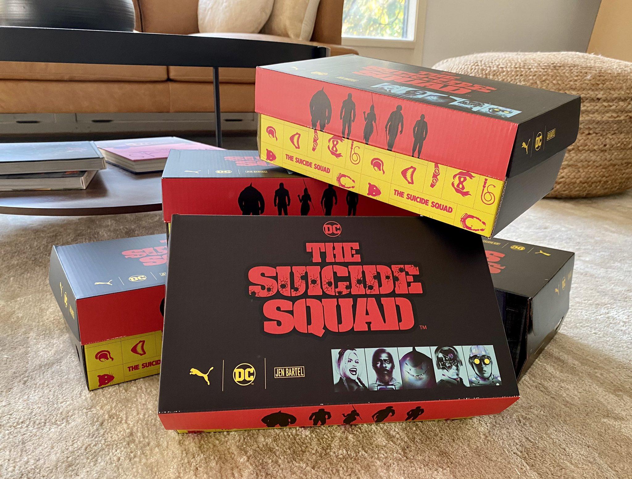 Foto de Primer vistazo a la colección de zapatillas Puma x The Suicide Squad