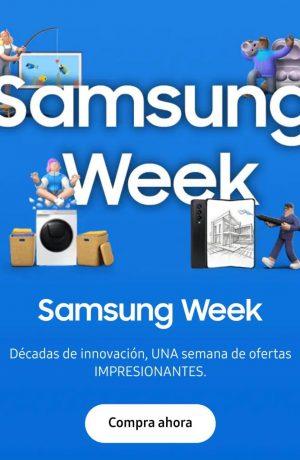 Foto de Samsung Week: Disfruta una semana de increíbles descuentos en tus equipos favoritos