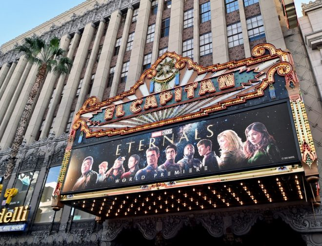 """Foto de Así fue la Premiere Mundial de """"Eternals"""" la película de Marvel Studios"""