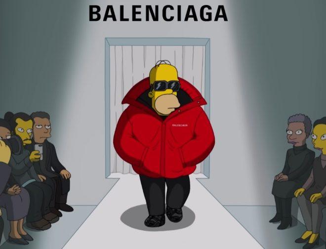 Fotos de Balenciaga viste a Los Simpson y Sprinfields en su nuevo spot