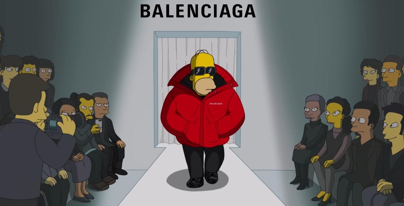 Foto de Balenciaga viste a Los Simpson y Sprinfields en su nuevo spot