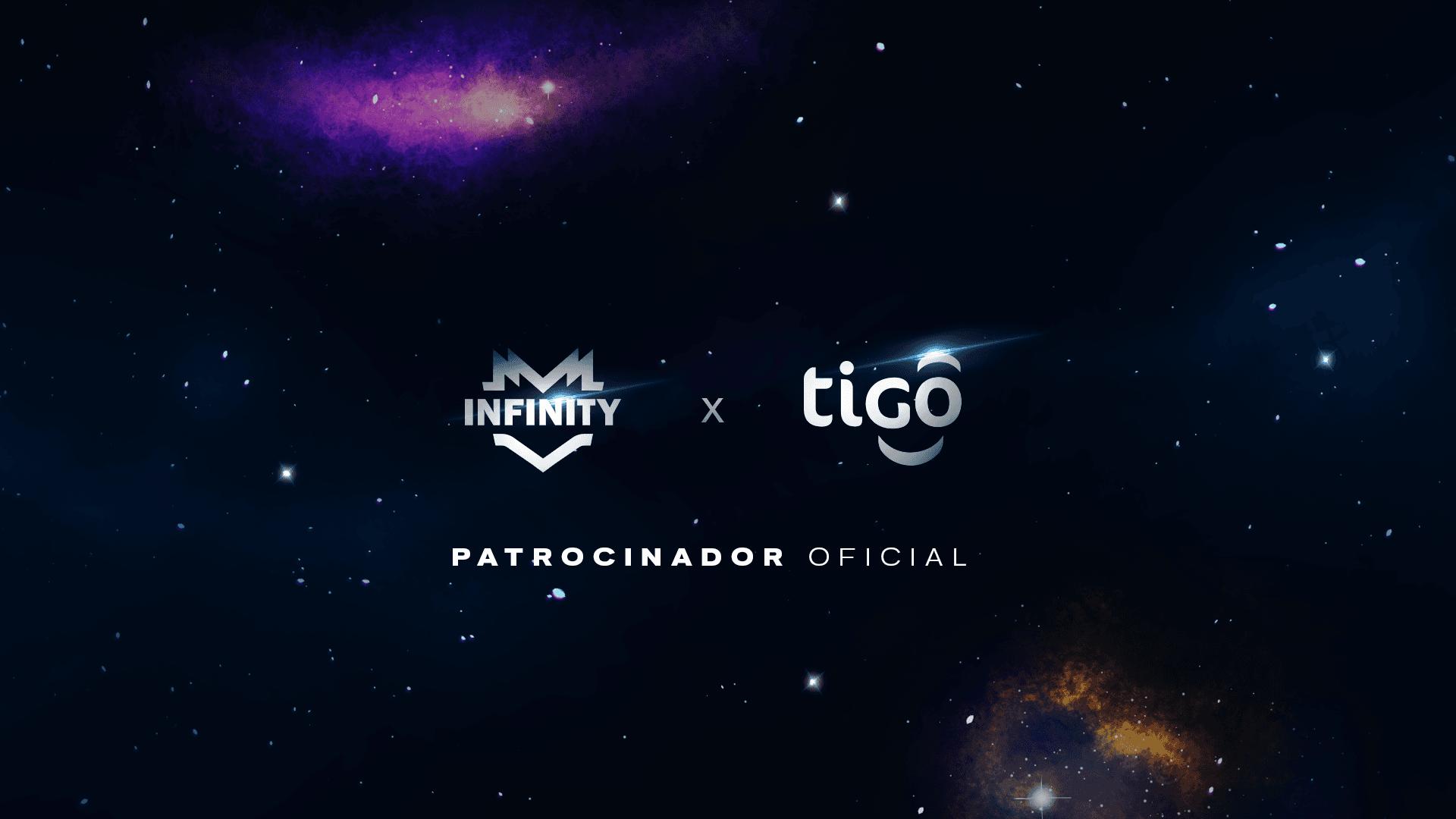 Foto de INFINITY anuncia a Tigo como nuevo patrocinador