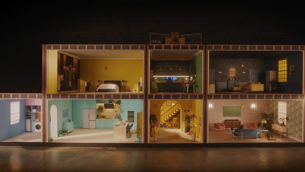 """Foto de Conoce más de """"La casa de las sorpresas"""", la experiencia virtual inmersiva de Samsung"""