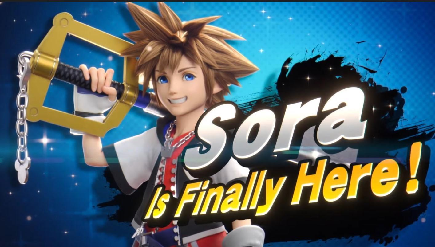 Foto de Sora es el personaje final desbloqueable de Super Smash Bros Ultimate